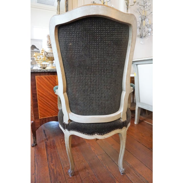 Set of Six Dining Chairs For Sale - Image 4 of 10