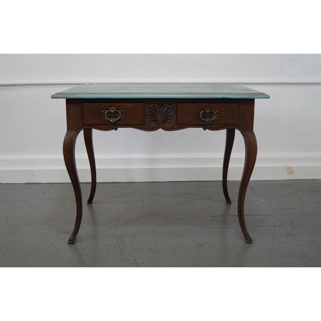 Bodart french louis xv drawer console side table chairish - Table de chevet louis xv ...