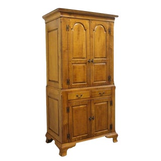 20th Century Traditional Lexington Bob Timberlake Old Salem Collection Chest on Chest Armoire For Sale