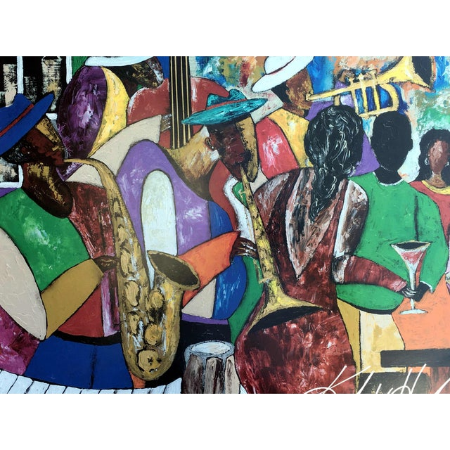 "2000s Modern ""B' More Jazz"" Festival Poster by Keith Henderson For Sale - Image 5 of 10"