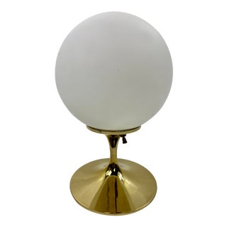 Mid-Century Modern Gold Base Table Lamp by Bill Curry For Sale