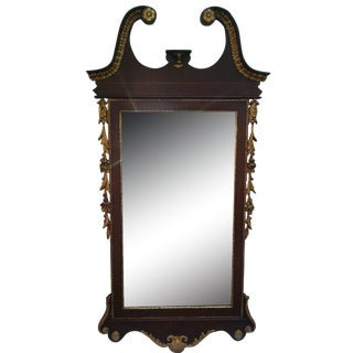 Chippendale Mahogany Mirror For Sale