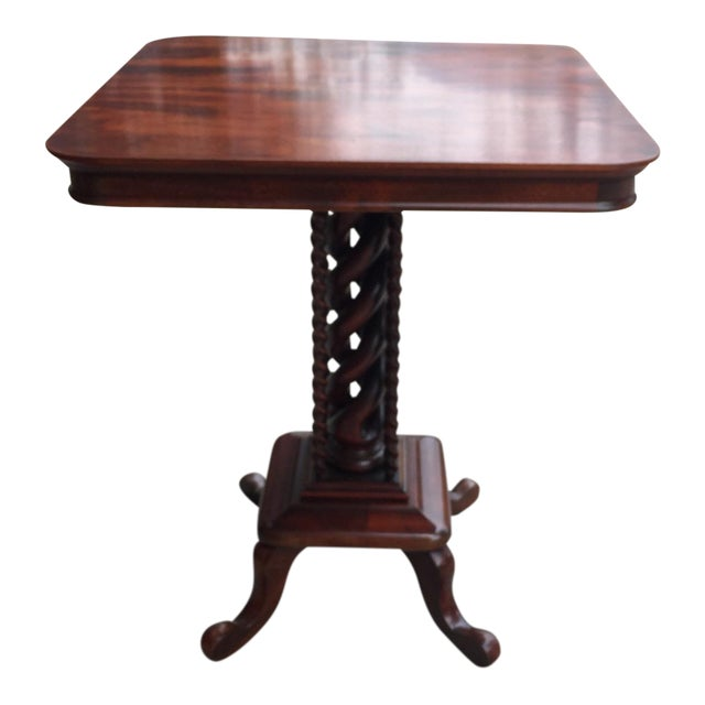 Corkscrew Leg Side Table - Image 1 of 5