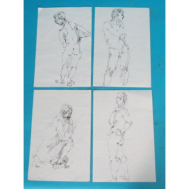 Male Nude Studies - Set of 4 - Image 2 of 6