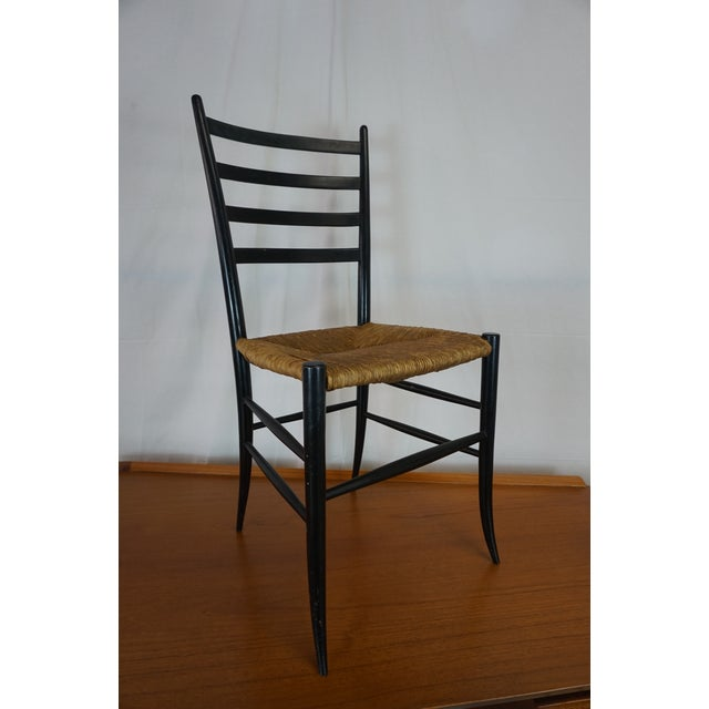 Italian Style Ladderback Chairs - A Pair - Image 3 of 7