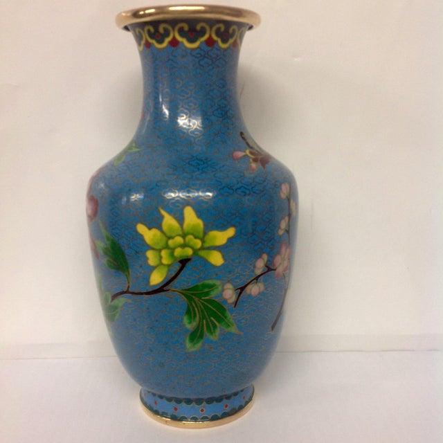 Meiji Japanese Cloisonné Vase - Image 5 of 9