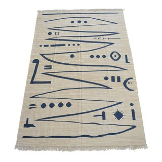 Paul Klee - Heroic Strokes of the Bow - Inspired Silk Hand Woven Area - Wall Rug 6′1″ × 8′10″