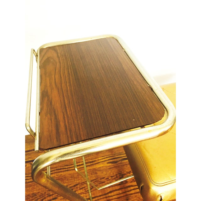 Vintage Gold Telephone Bench - Image 5 of 7