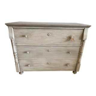 French Provencal Chest With 3 Drawers For Sale