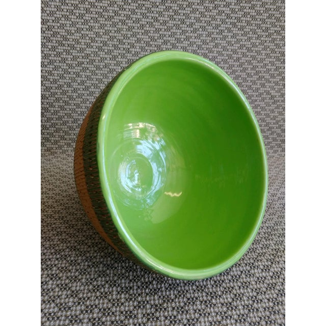 Bitossi Vintage Bitossi Italy Ceramic Footed Bowl For Sale - Image 4 of 8