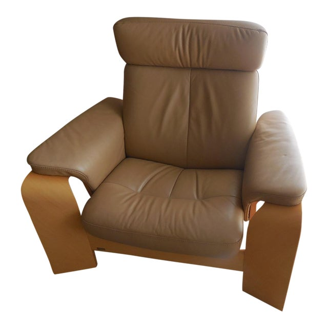 Ekornes ASA Stressless Leather Reclining Chair - Image 1 of 6