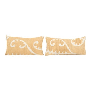 Turkish Suzani Pillow Cover - a Pair For Sale