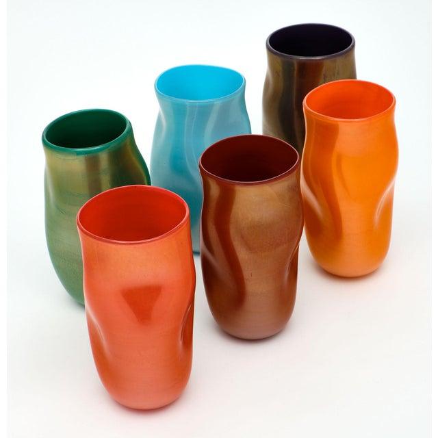"""2010s Murano Glass """"Cartoccio"""" Vases For Sale - Image 5 of 7"""