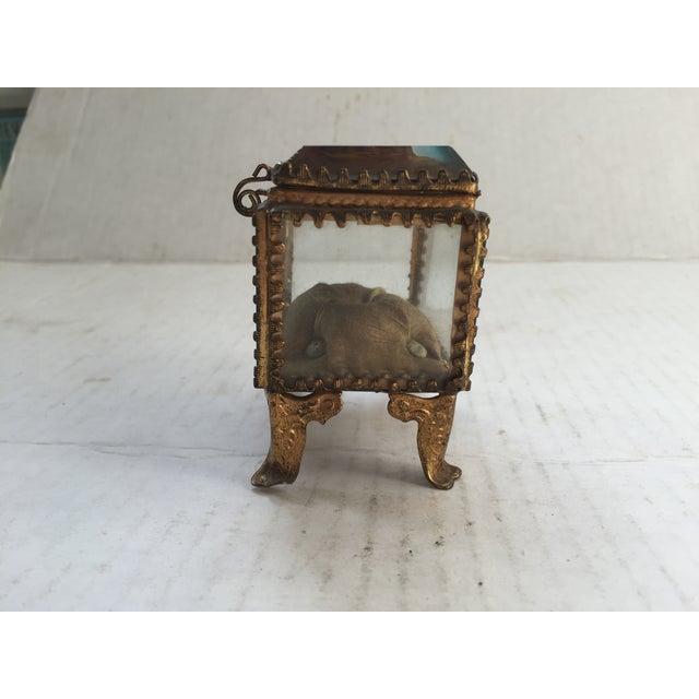 French Antique Alsatian Souvenir Ring Box For Sale - Image 3 of 5