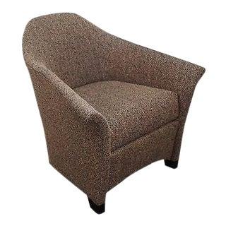 Thomasville Casa Bique Leopard Print Club Lounge Chair For Sale