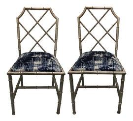 Image of Chinoiserie Side Chairs