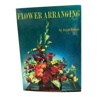 1964 Flower Arranging Book by Joyce Roger For Sale