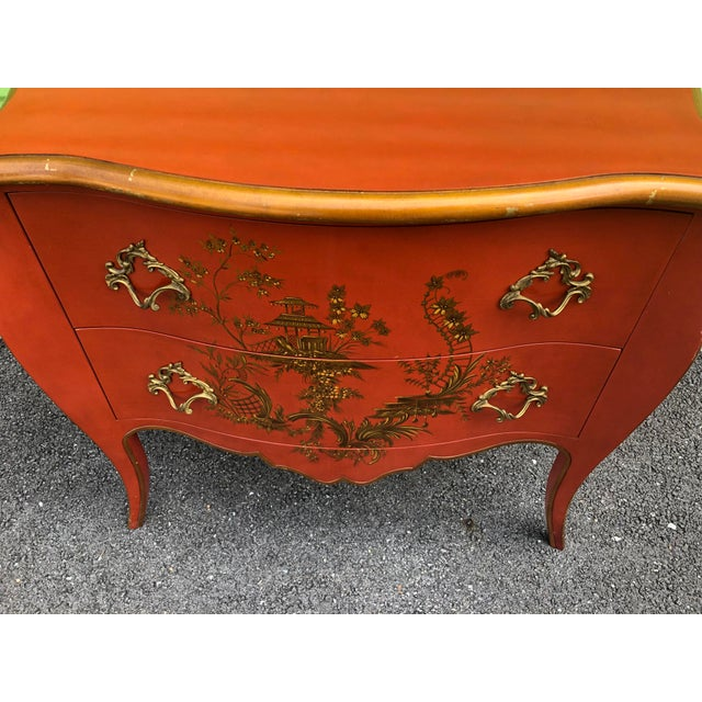 Late 20th Century Chinoiserie Chest of Drawers by Baker Furniture For Sale - Image 5 of 13