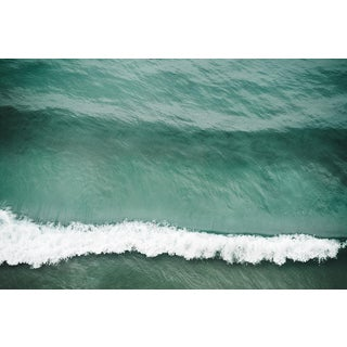 """Crest"" Large Aerial Ocean Wave Surf Photograph Coastal Art Unframed For Sale"