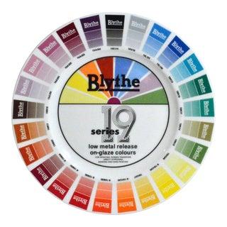 Blythe Factory Artist Color Sample Plates