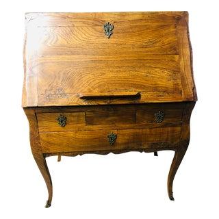 Antique Drop Front Secretary Desk For Sale