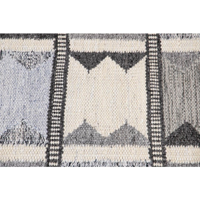 Contemporary 21st Century Contemporary Swedish Style Runner Rug, 3' X 12' For Sale - Image 3 of 11