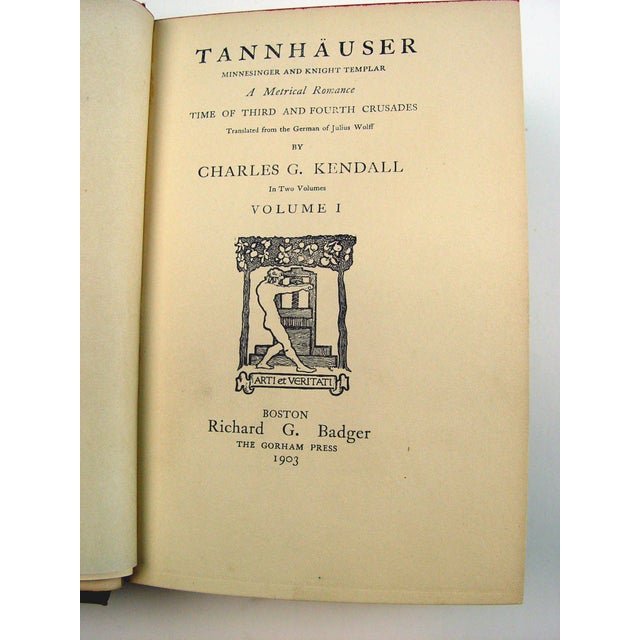 Tannhauser, Vols 1 and 2 - Image 4 of 5
