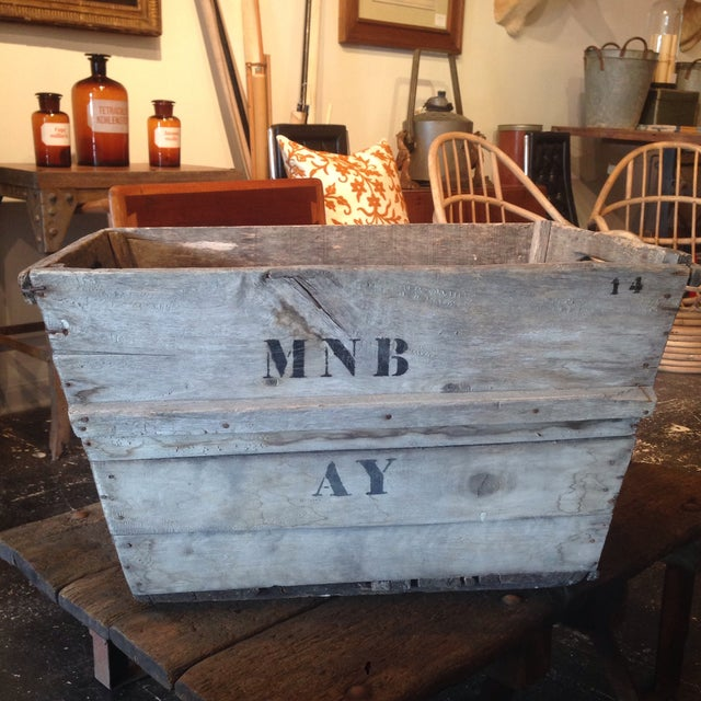 Vintage French Champagne Crate For Sale - Image 5 of 6