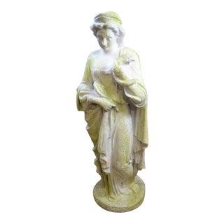 Roman Lady Garden Statue For Sale