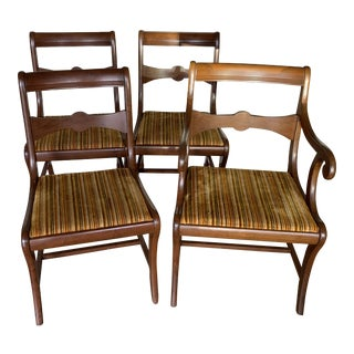 Vintage Dining Chairs - Set of 4 For Sale