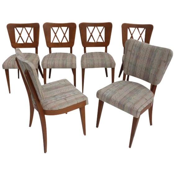 Heywood-Wakefield Dog Bone Chairs - Set of 6 For Sale