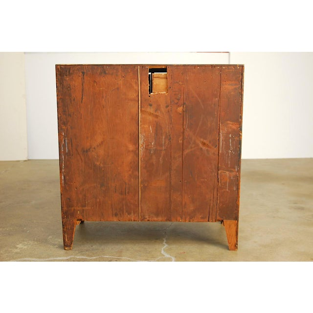 19th Century George III Mahogany Chest of Drawers For Sale - Image 11 of 12