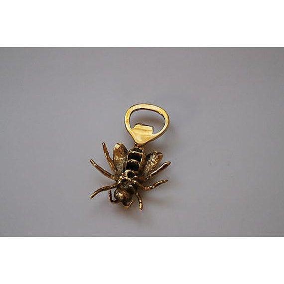 Brass Royal Bee Bottle Opener - Image 3 of 3