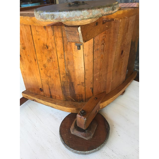 Antique Wood Sedan Chair For Sale - Image 4 of 6