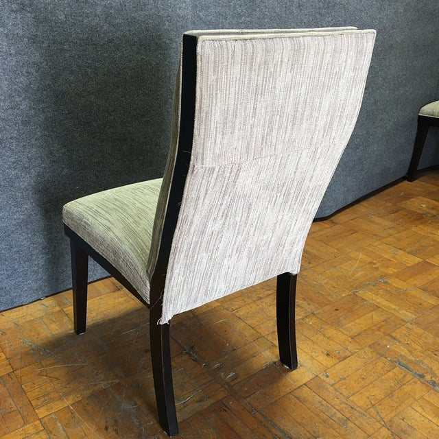 Modern Dining Chairs With Bench - Set of 5 - Image 5 of 11