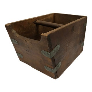 Antique Hardware Store Handcrafted Nail Bin/Planter For Sale
