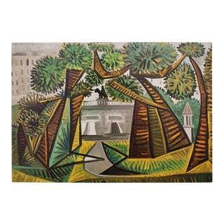 1971 Picasso Le Vert-Galant Parisian Photogravure For Sale