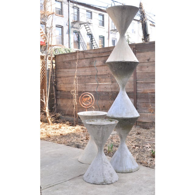 Small Hourglass Planter by Anton Bee For Sale - Image 10 of 11