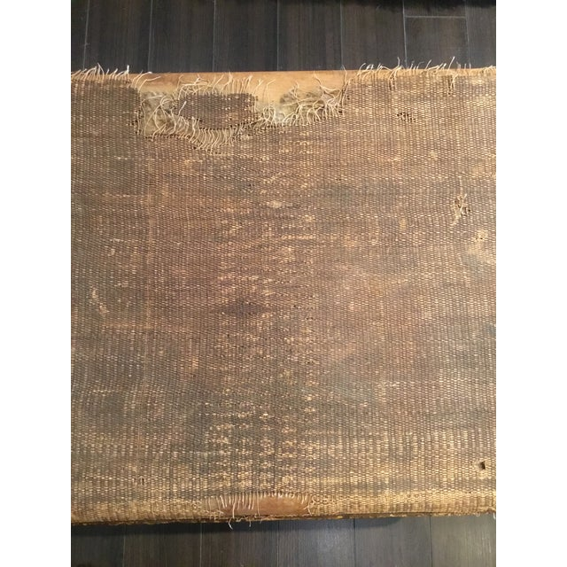 20th Century Asian Antique Scorched Bamboo Trunk For Sale - Image 11 of 13