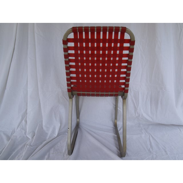 Mid-Century Aluminum Side Chairs - Set of 6 - Image 4 of 5