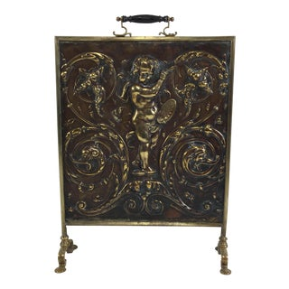 19th Century Fireplace Screen For Sale