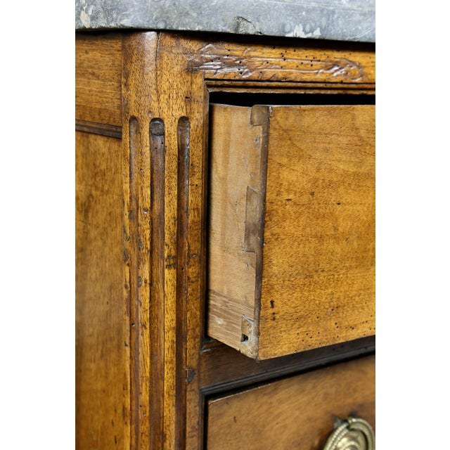 Late 18th Century Louis XVI Provincial Walnut Commode For Sale - Image 5 of 10