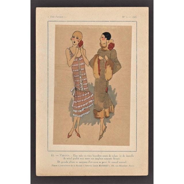 Art Deco Fashion Pochoir - Image 2 of 5