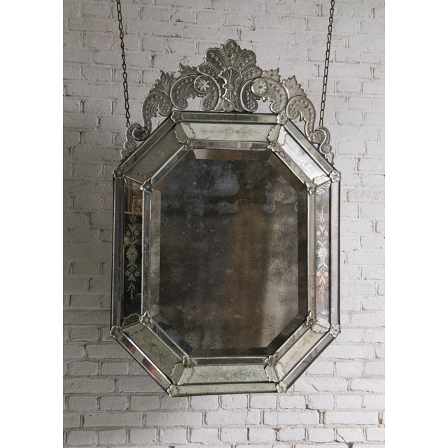 19th Century Venetian Mirror For Sale - Image 9 of 10