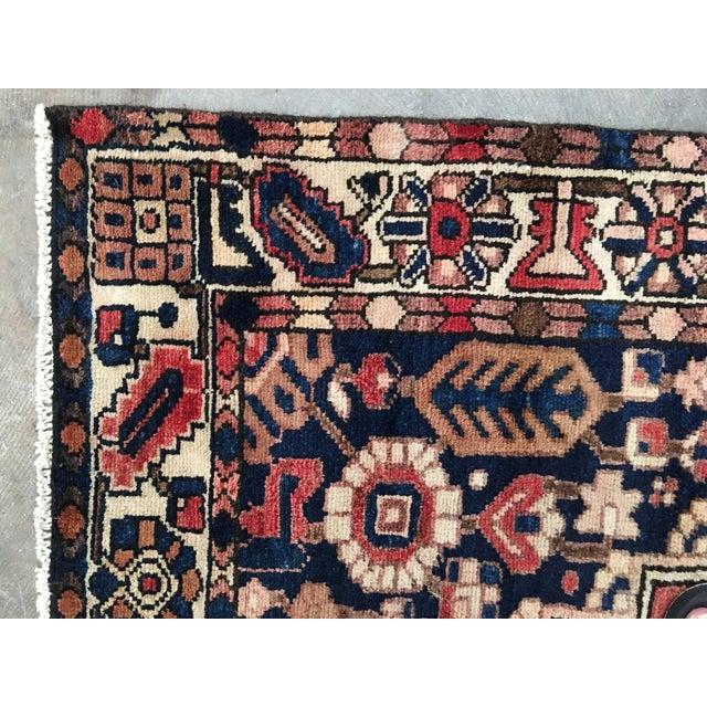 """Bactiari Persian Rug - 5'1"""" x 6'10"""" - Image 7 of 9"""
