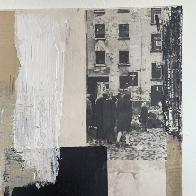 Contemporary Contemporary Abstract Mixed-Media Painting by Ross Severson For Sale - Image 3 of 7