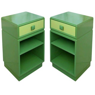 1940s Mid-Century Modern Kittinger Side Tables - a Pair For Sale