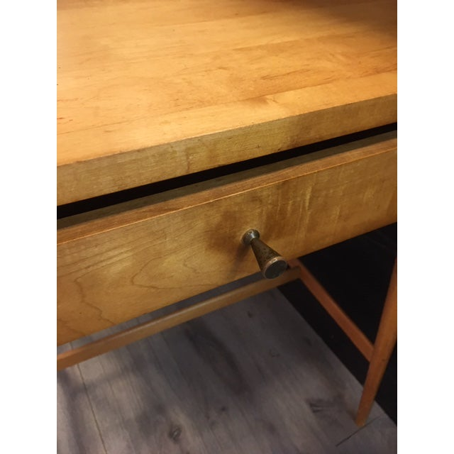 Wood Paul McCobb Planner Group / Winchendon Maple Nightstands For Sale - Image 7 of 9