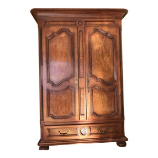 1990s Traditional Henredon Armoire For Sale