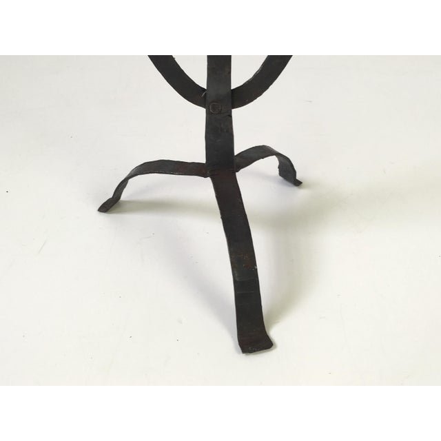 Van Keppel Green Iron Candelabra - Image 4 of 7